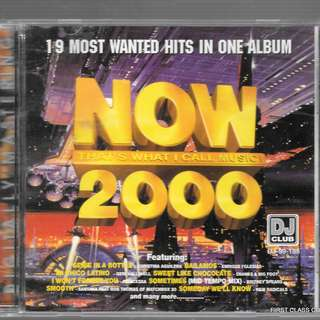 MY PRELOVED CD - NOW 2000 - 19 MOST WANTED HITS IN ONE ALBUM /FREE DELIVERY (F3J))