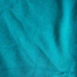 Turquoise Green Tee fabric