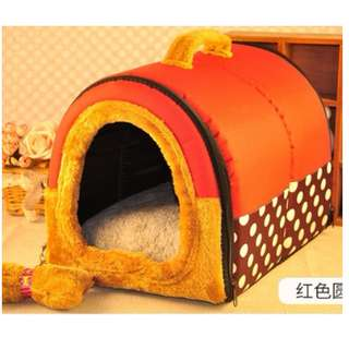 狗窩~寵物睡床~四季可用~可拆洗~一窩二用~中大型犬狗睡床推薦