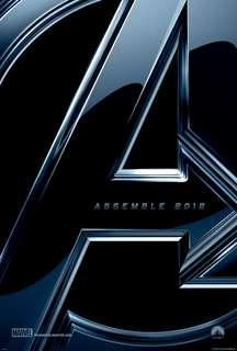 Avengers teaser movie poster