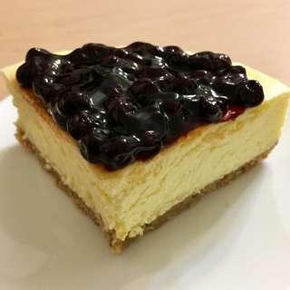 <自家製>件裝藍莓澳洲芝士餅Homemade Blueberry Cheesecake