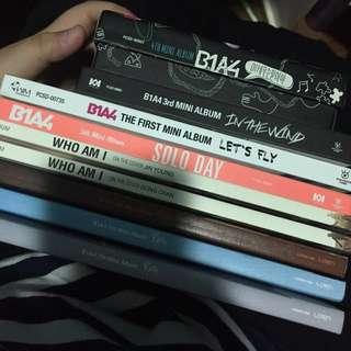 PRELOVED B1A4 ALBUMS