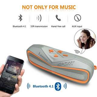 Leeron Marine and Waterproof IPX7 Wireless Bluetooth 4.1 Speaker
