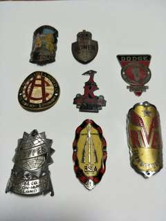 Bicycle Head Badges
