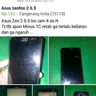 Asus Zenfone 2 Ram 4