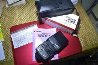 Canon Speedlite 380EX (Brand New)