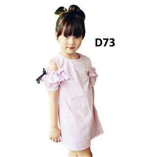 D73 Dress Pita Liris Pink