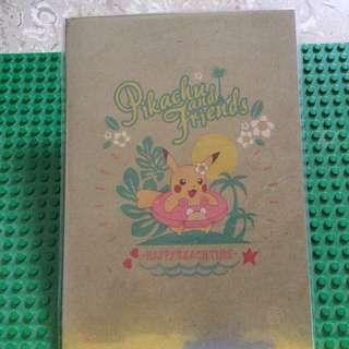 Pokémon Notebook & Sticker