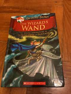 Geronimo Stilton The wizards wand kingdom of fantasy