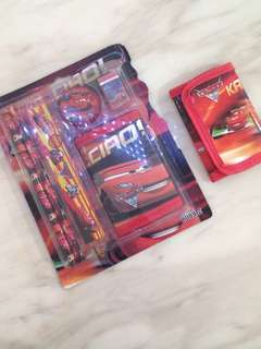 Children birthday party goodies bag- cars theme