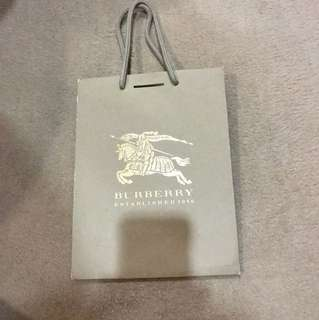 Burberry Paper Bag