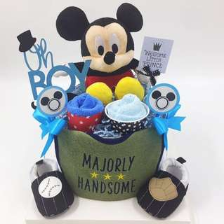 Diaper cake - Authentic Micky Mouse
