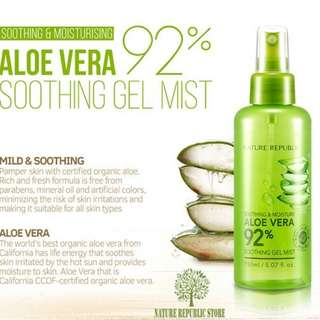 NATURE REPUBLIC Soothing and Moisture Aloe Gel Mist