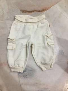 White Shorts 9-12 month