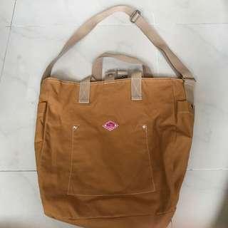 日本姜黃色Triffer兩用袋