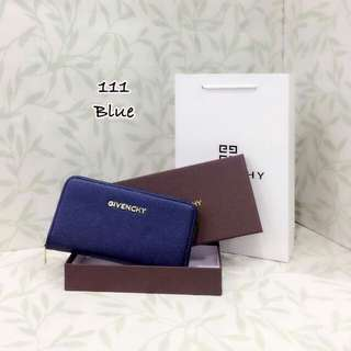Givenchy Wallet Blue Color