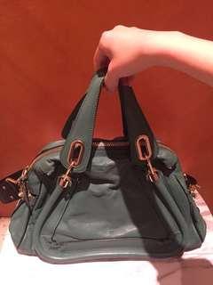 Chloe Paraty handbag green