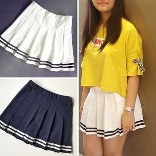 Navy Style Tennis Skirt Skort