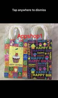 Colorful party bag