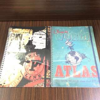 Typo A4 note books