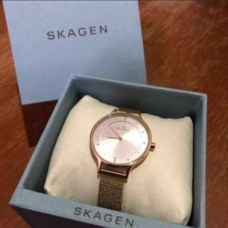 Skagen Ladies Watch (Swarovski Yellow Gold SKW2150)
