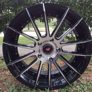 17in PCD 5-114.3 Vossen Design Rims On Sale
