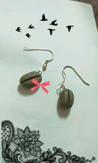 Earrings for her - Coffee Beans