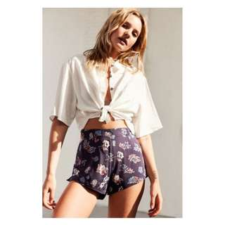 SGD 52 BNWT Urban Outfitters Botanical Shorts