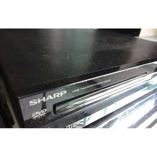 Sharp DVD Player with Sub-Woofer (5 speakers)