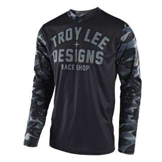 PRE ORDER!!!! 🆕! Troy Lee Designs Racing 🏁 Black Camouflage Jerseys