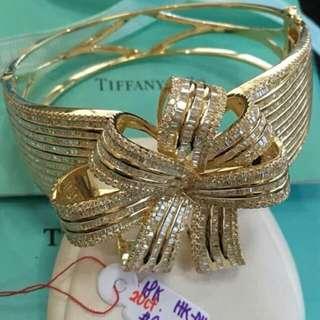Tiffany & Co Diamond Bangle