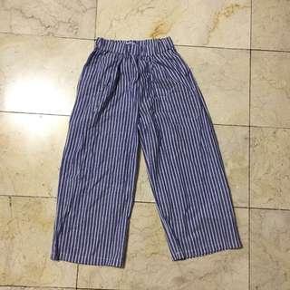 Striped Culottes Size S