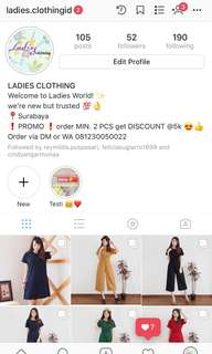 yuk follow dan check @ladies.clothingid ✨