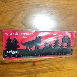 Smuggle woodland ruler - black