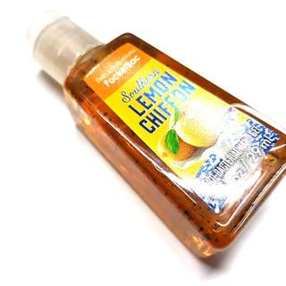 Bath & bosy works lemon chiffon hand sanitizer