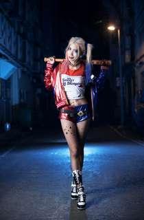 Harley quinn cosplay costume full set