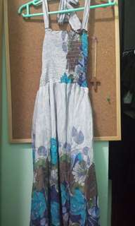 Flowery Korea cotton dress