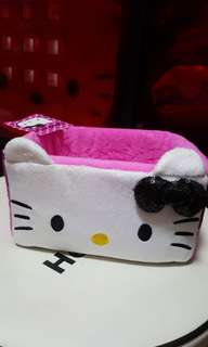 Hello Kitty Pink Sequinn Storage Box