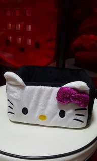 Hello Kitty Black Sequinn Storage Box