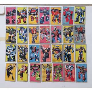 Transformers Collectible Card (Vintage)