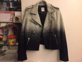 GAP 羊毛 漸變色 Biker Jacket 外套