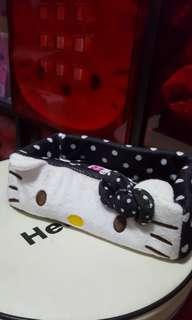Hello Kitty Black Polka Storage Tray