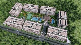 Ivorywood Residences... 2 Bedrooms unit condominium for sale at Acasia Estate Taguig