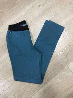 Elastic Waistband Jeans