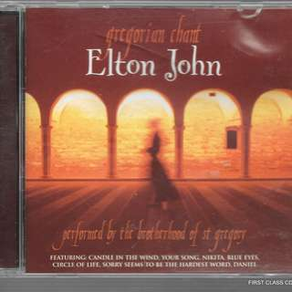 MY PRELOVED CD ELTON JOHN GREGORIAN CHANG -//  - /FREE DELIVERY (F3G))