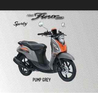 Yamaha New Fino 125 sporty