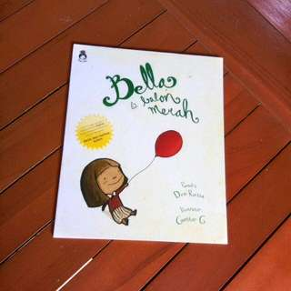 Buku Rabbit Hole Bella dan Ballon Merah (plus CD)