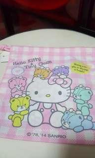 Hello Kitty Tiny Chum Drawstring Bag