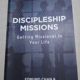 Discipleship missions by Edmund Chan and Tan Lian Seng