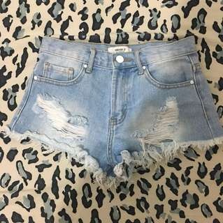 Forever21 Ripped Hotpants